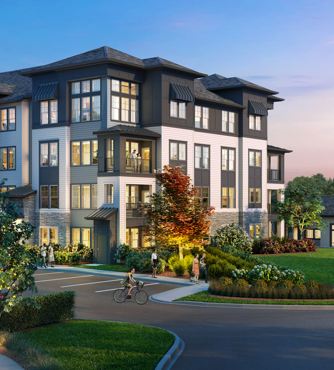 The Addison Eighty 50 Charlotte NC rendering